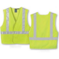 Vests General - North End<sup>®</sup> - 2XL/3XL -  Men's vertical stripe safety vest