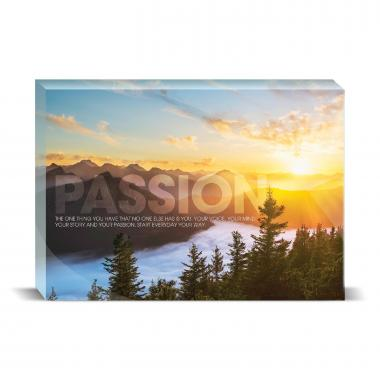 Passion Sunrise Motivational Art