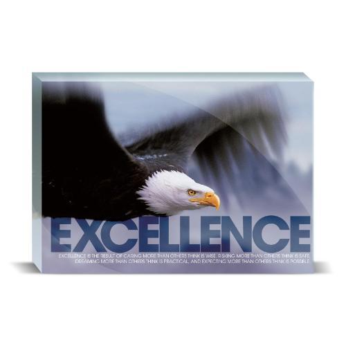 Excellence Eagle Motivational Art