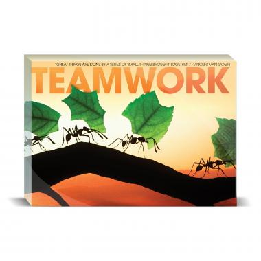Teamwork Ants Motivational Art