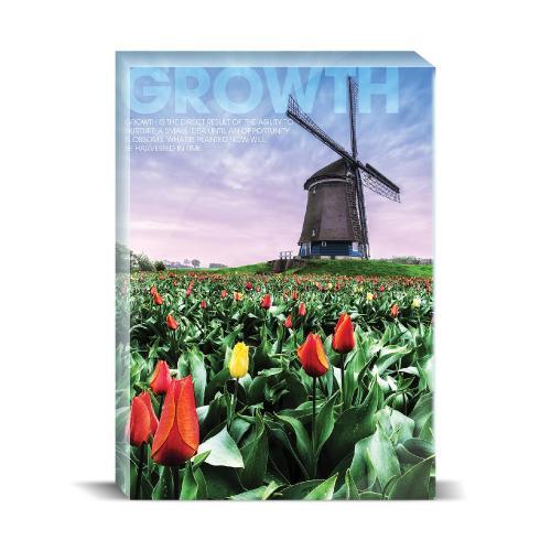 Growth Windmill Motivational Art