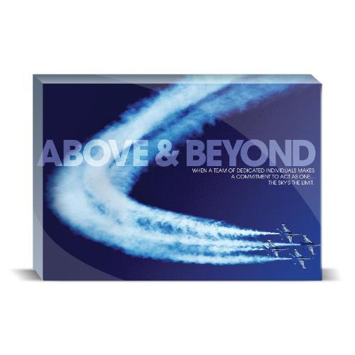 Above & Beyond Jets Motivational Art