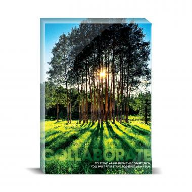 Collaborate Trees Motivational Art