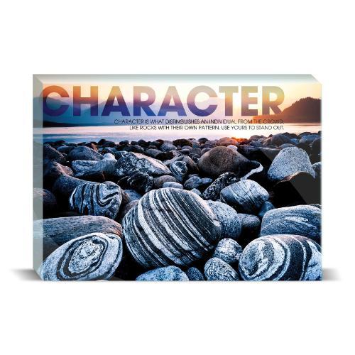 Character Beach Motivational Art
