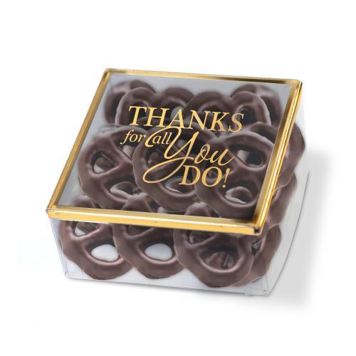 Golden Box Chocolate Pretzels