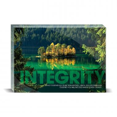 Integrity Island Motivational Art