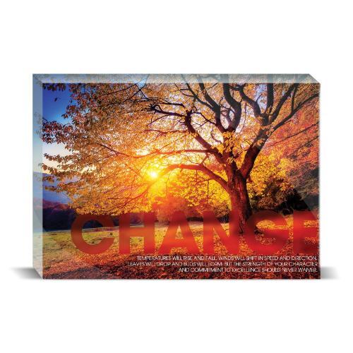 Change Tree Motivational Art