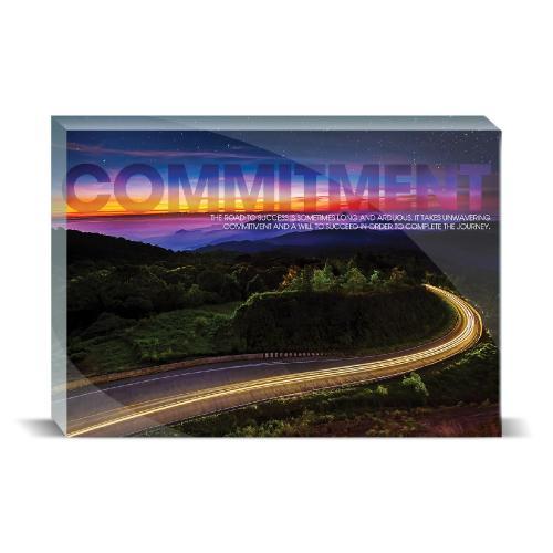 Commitment Highway Motivational Art