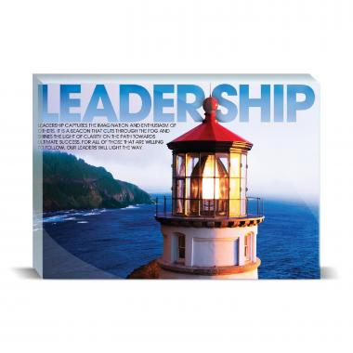 Leadership Lighthouse Motivational Art