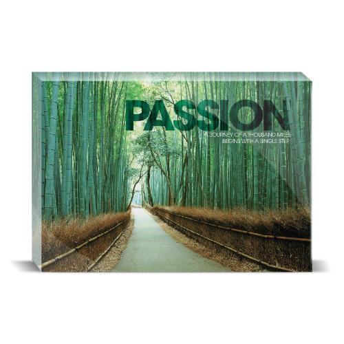 Passion Bamboo Path Motivational Art