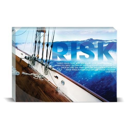 Risk Sailboat Motivational Art