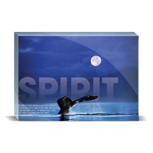 Spirit Whale Motivational Art