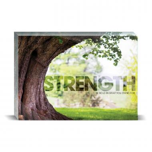 Strength Tree Motivational Art