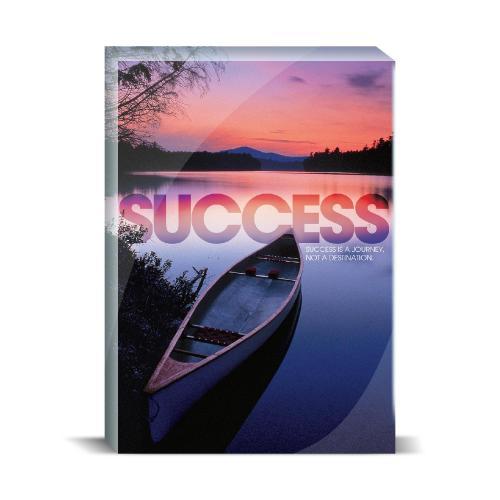 Success Canoe Motivational Art
