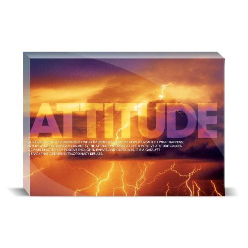 Attitude Lightning Motivational Art