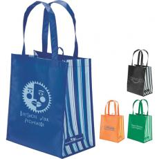Tote Bags General - eco-Lifestyle<sup>™</sup> - PET laminate tote. Recycled tote made from water bottles