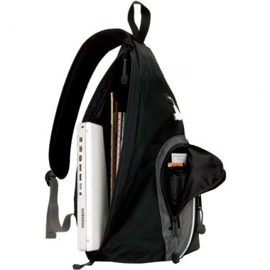 Sling computer bag with built-in 15