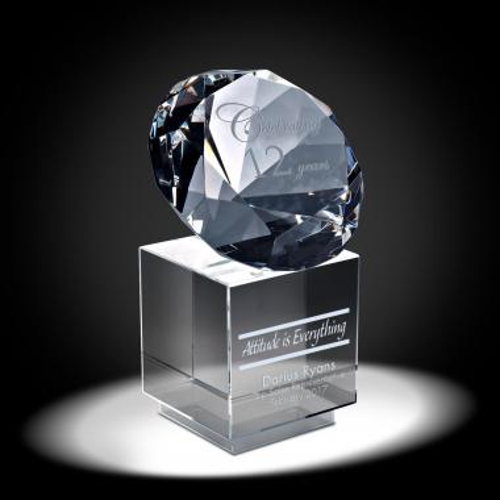 Precious Gem Years of Service Award