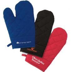 Mitts - eco-Lifestyle<sup>™</sup> - Quilted texture oven mitt with small hanging loop