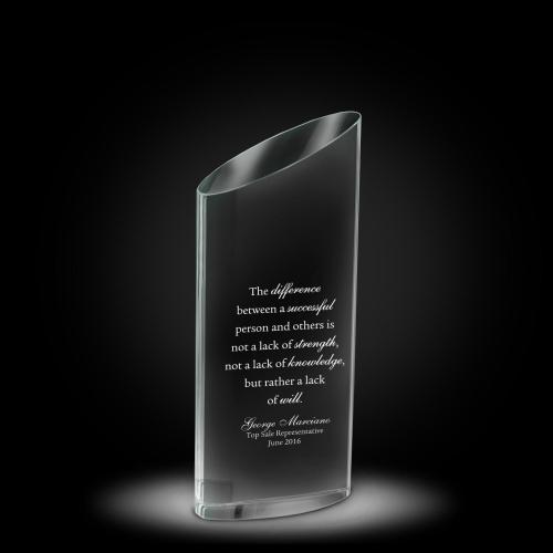 Elliptico Crystal Award