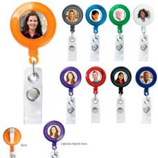 Tradeshow & Event Supplies - Retractable badge holder with alligator clip, extends up to 30""