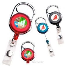 Tradeshow & Event Supplies - Carabiner badge holder. Extends up to 30""