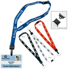 Tradeshow & Event Supplies - Breakaway lanyard with key ring, 3/4""