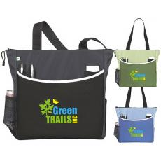 Tote Bags General - Atchison<sup>®</sup>;TranSport It - TranSport It Tote features a slip pocket on the front. Made from 51% recycled PET