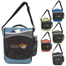 Messenger Bags - Atchison<sup>®</sup>;Route 66 - Route 66 Carry-All with a hook-and-loop closure on the main compartment