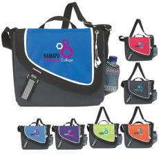 Messenger Bags - A Step Ahead;Atchison<sup>®</sup> - A Step Ahead Messenger with velcro closure on main compartment