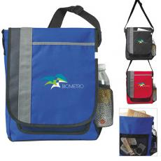 Messenger Bags - Atchison<sup>®</sup>;Side Swipe - Side Swipe Messenger is made of polyester with hook-and-loop closure