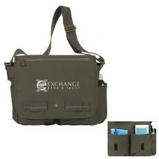 Messenger Bags - Atchison<sup>®</sup>;Joint Forces - Joint Forces Messenger is made of 18 oz canvas