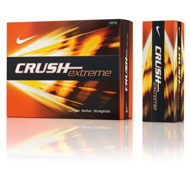 Nike<sup>&reg;</sup> Crush Extreme - Pack of golf balls with softer &  faster core