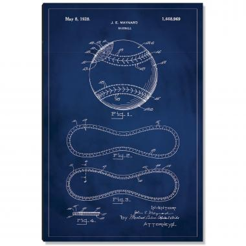 Baseball Patent Art