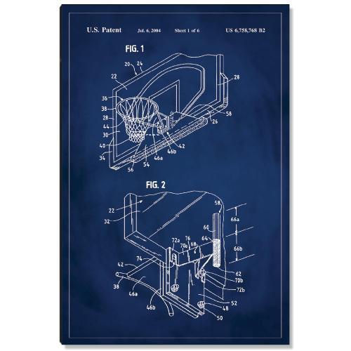 Basketball Hoop Patent Art