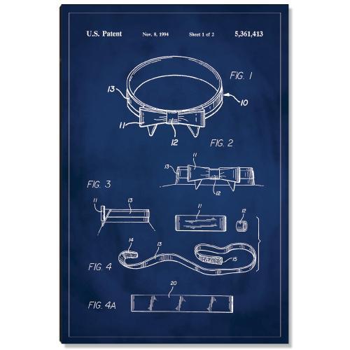 Bow Tie Patent Art