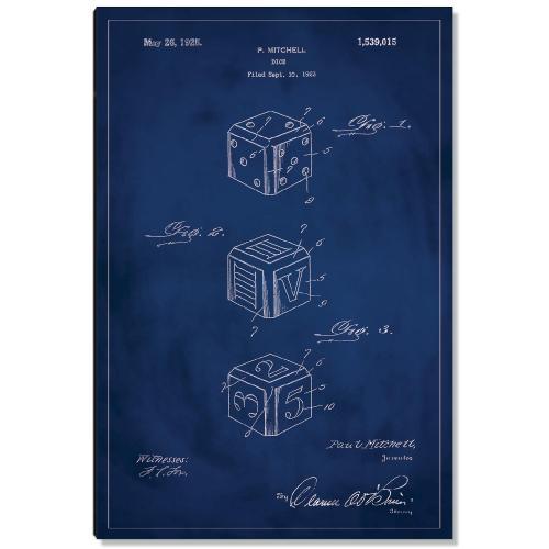 Dice Patent Art