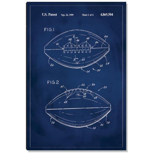 Football Patent Art