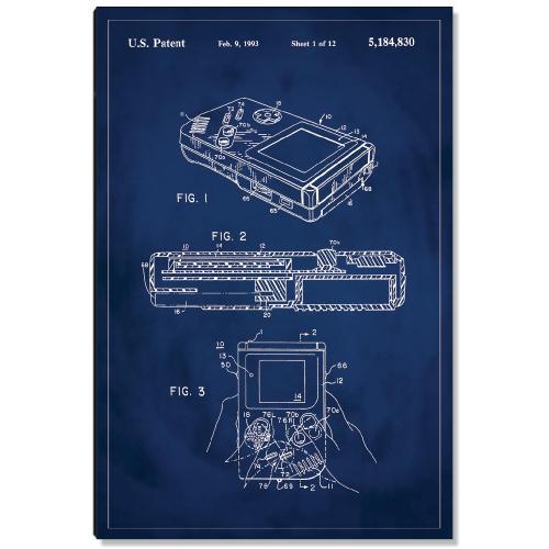 Gameboy Patent Art
