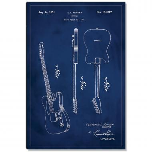 Fender Guitar Patent Art