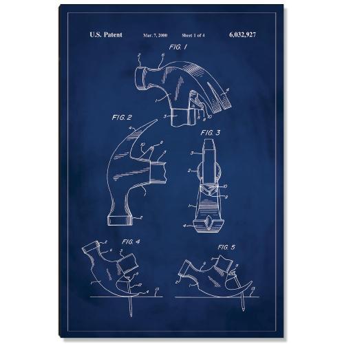 Hammer Patent Art