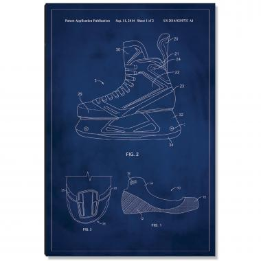 Hockey Skate Patent Art