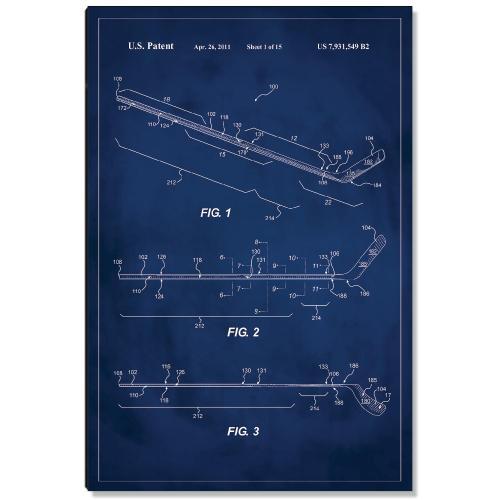 Hockey Stick Patent Art