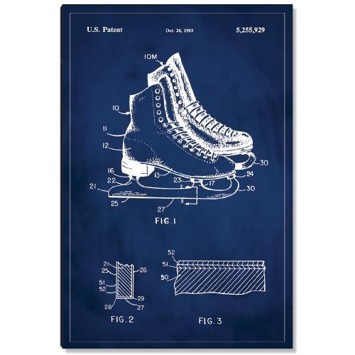 Ice Skates Patent Art