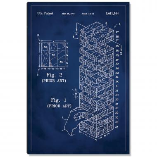 Jenga Patent Art