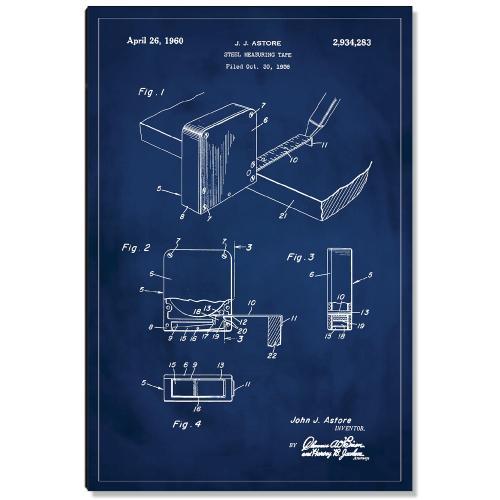 Measuring Tape Patent Art