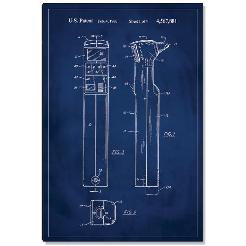 Otoscope Patent Art