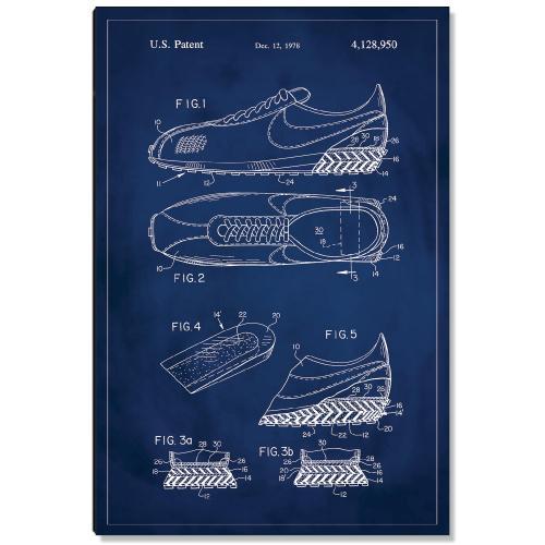 Running Shoe Patent Art