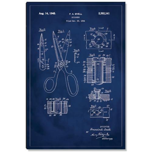 Scissors Patent Art