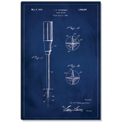 Screwdriver Patent Art